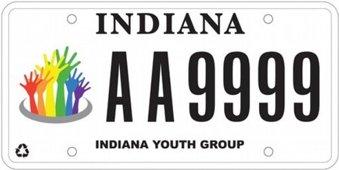 Indiana BMV strips LGBT support group of specialty plates