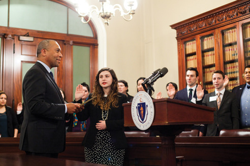 Mass LGBT Youth Commission Swearing-In