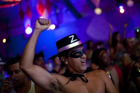 Rio's Carnival a big draw for LGBT tourists