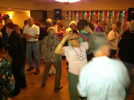 "Seniors celebrate ""I Am What I Am"" at LGBT Aging Project Pride Tea Dance"