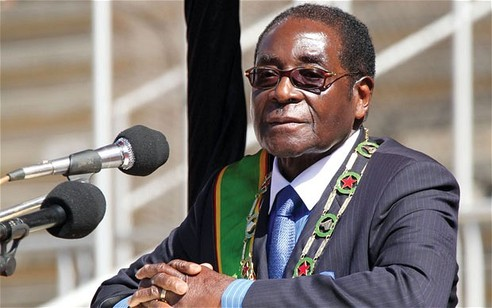 Zimbabwe president to youth: Shun Western values